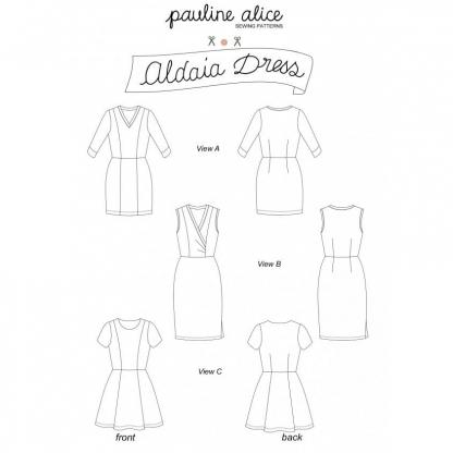 Pauline Alice - Patron Femme Robe Aldaia du 34 au 48