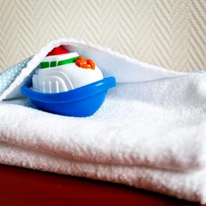 Sélection Coup de coudre - Tissu Eponge de Bambou Uni Couleur Blanc