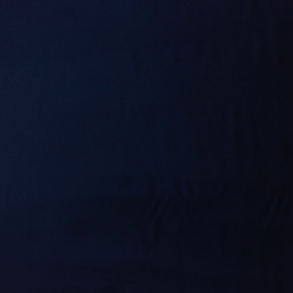 C. Pauli - Tissu Soft Twill de Coton Bio Uni Couleur Bleu Marine