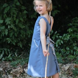 Gasparine – Patron Enfant Robe Jackie 2-10 ans