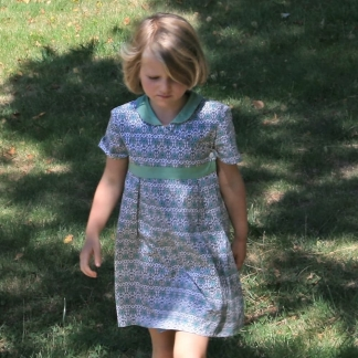 Gasparine – Patron Enfant Tunique ou Robe Joli Cœur 2-10 ans