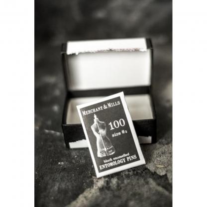 "Merchant & Mills - Boite 100 Epingles de Couture Ultra Fines ""Entomology"""