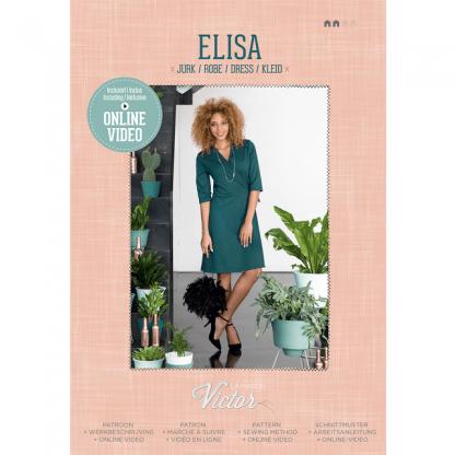 La Maison Victor - Patron Femme Robe Elisa du 34 au 54