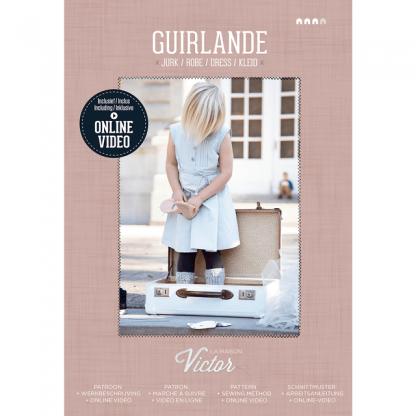La Maison Victor - Patron Robe Enfant Guirlande 3-10 ans