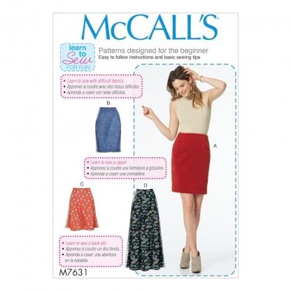 McCall's – Patron Femme Jupe M7631 du XS au XXL