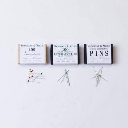 Merchant & Mills - Set Cadeau 3 Boites d'Epingles Assorties
