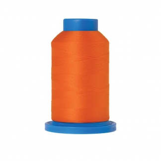 Mettler – Fil Mousse Seraflock Coloris Orange (1000 m)
