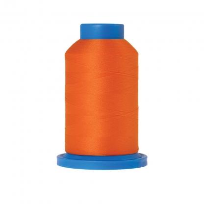 Mettler – Fil Mousse Seraflock Coloris Orange (1000 m)