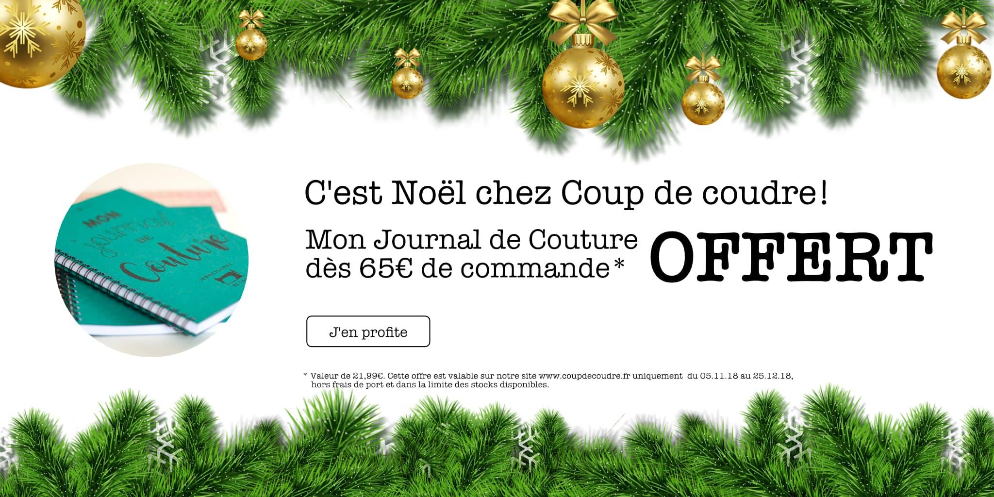 Mon Journal de Couture Offert @ Coup de coudre
