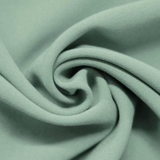 Sélection Coup de coudre - Tissu Gabardine de Lainage Uni Couleur Mer Vert