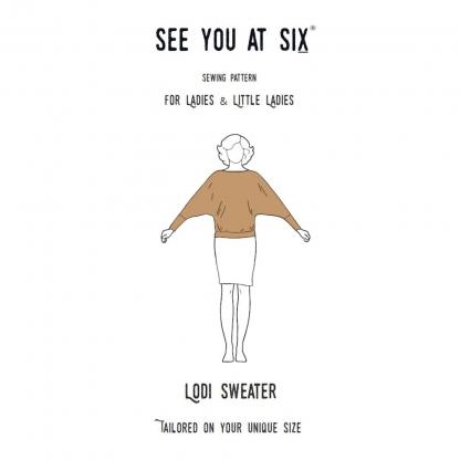 See You at Six – Patron Femme Pull Lodi pour Ladies et Little Ladies