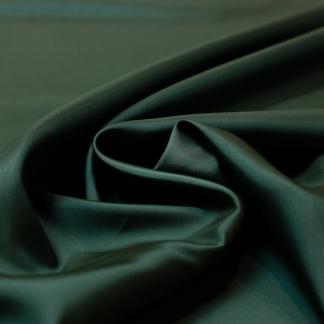 Bemberg - Doublure Taffetas de Cupro Fiber et Acetate Uni Couleur Vert Buis