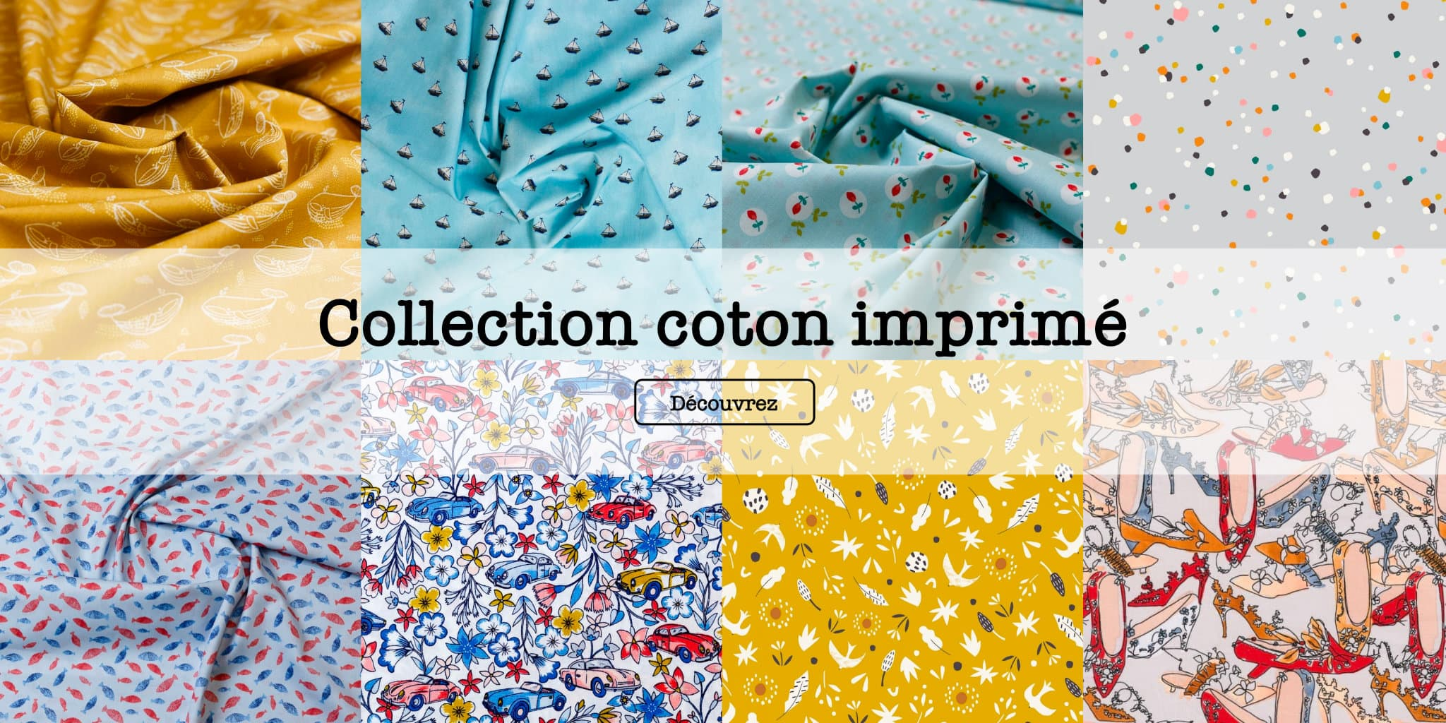 Collection Cotton Imprime @ Coup de coudre