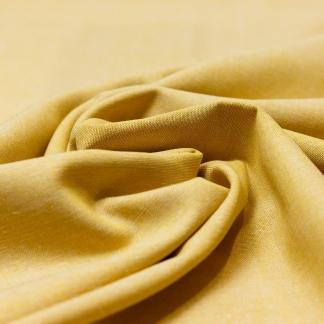 Sélection Coup de coudre - Tissu Toile de Lin et Viscose Uni Couleur Ocre