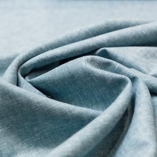 Sélection Coup de coudre - Tissu Toile de Lin et Viscose Uni Couleur Vert d'Eau