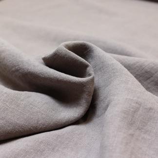 Sélection Coup de coudre - Toile de Pur Lin Uni Couleur Gris