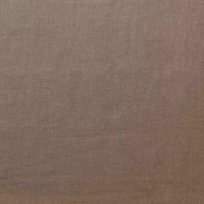 Sélection Coup de coudre - Toile de Pur Lin Uni Couleur Taupe