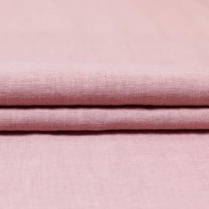 Sélection Coup de coudre - Toile de Pur Lin Uni Couleur Vieux Rose
