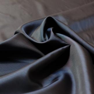 Bemberg - Doublure Taffetas de Cupro Fiber et Acetate Uni Couleur Plomb