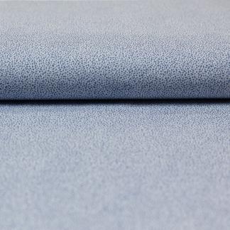 Sélection Coup de coudre - Tissu Batiste de Coton Imprimé Taches Bleu sur le Fond Blanc