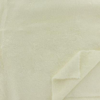 Sélection Coup de coudre - Tissu Eponge de Bambou Uni Couleur Ecru