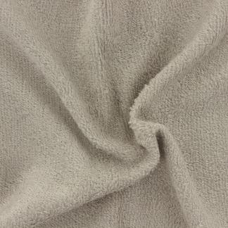 Sélection Coup de coudre - Tissu Eponge de Bambou Uni Couleur Taupe Noisette