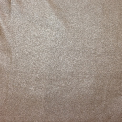 Sélection Coup de coudre - Tissu Similicuir Souple Métallisé Uni Couleur Champagne