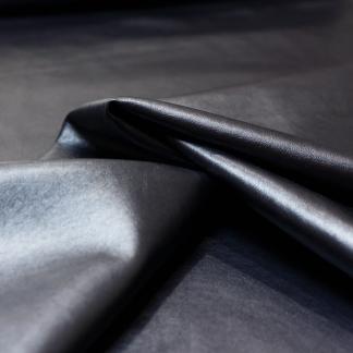 Sélection Coup de coudre - Tissu Similicuir Souple Métallisé Uni Couleur Gris Anthracite