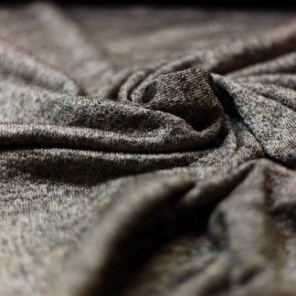 Sélection Coup de coudre - Tissu Maille de Viscose Mélangé Couleur Caramel Lurex