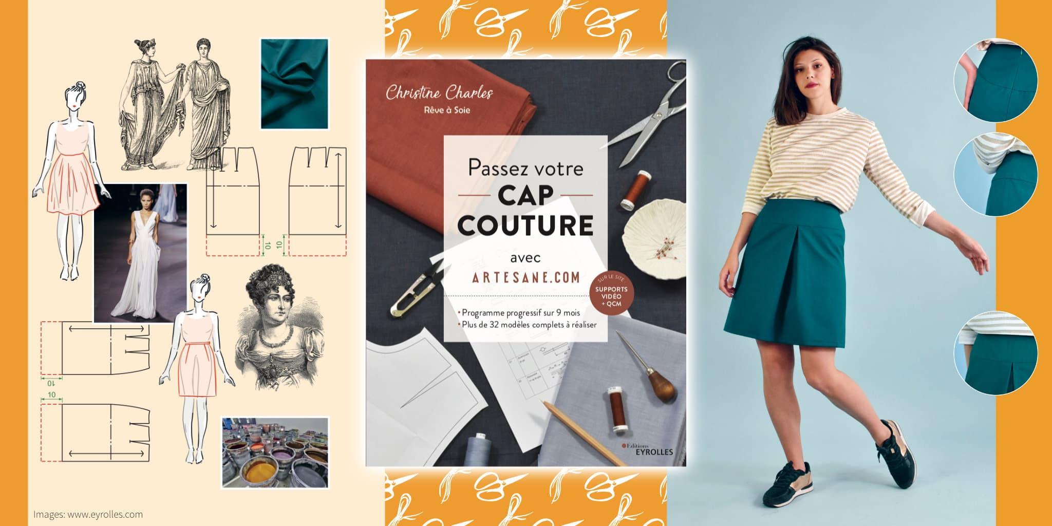 Christine Charles - Passez votre CAP couture avec Artesane.com @ Coup de coudre