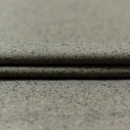 Sélection Coup de coudre - Tissu Jersey de Coton Mélangé avec Lurex sur le Fond Beige Moucheté