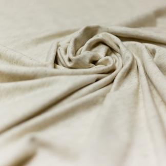Sélection Coup de coudre - Tissu Jersey de Coton Lurex sur le Fond Ecru