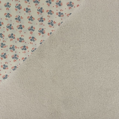 Sélection Coup de coudre – Kit Couture 10 Lingettes Démaquillantes Lavables en Tissu Bio Couleur Taupe Noisette