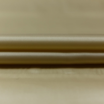 Bemberg - Doublure Taffetas de Cupro Fiber et Acetate Uni Couleur Champagne