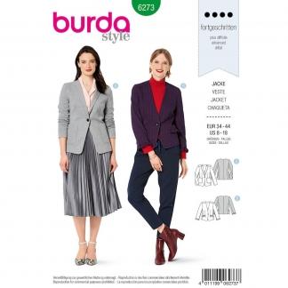 Burda Style – Patron Femme Blazer n°6273 du 34 au 44