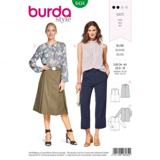 Burda Style – Patron Femme Blouse n°6434 du 34 au 44