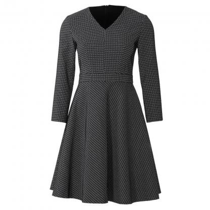 Burda Style – Patron Femme Robe Col V n°6279 du 34 au 44
