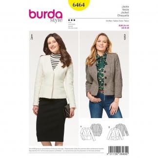 Burda Style – Patron Femme Veste n°6464 du 34 au 44