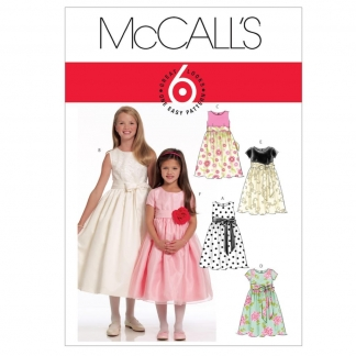 McCall's – Patron Enfant Robe de Fêtes M5795 3 - 6 ans
