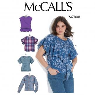 McCall's – Patron Femme Haut Ample M7808