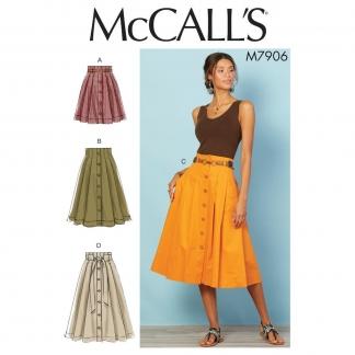 McCall's – Patron Femme Jupe Plissée M7906