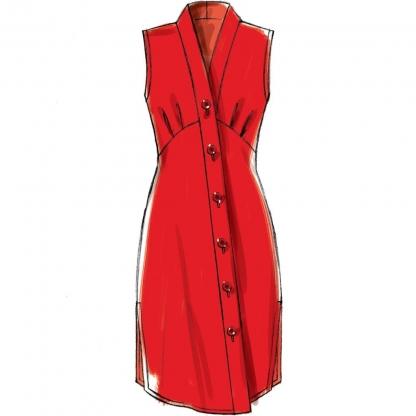 McCall's – Patron Femme Robe Chemisier M7890