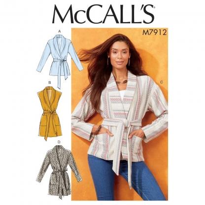 McCall's – Patron Femme Veste Ample M7912