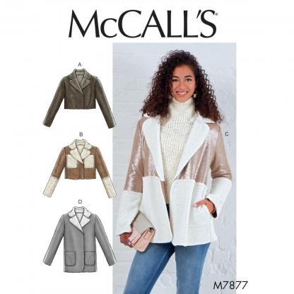 McCall's – Patron Femme Veste M7877