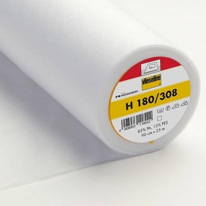 Vlieseline - Entoilage Thermocollant H 180 Uni Couleur Blanc