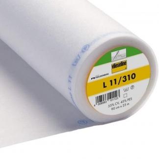Vlieseline - Entoilage à Coudre L 11 Uni Couleur Blanc