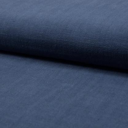 Christine Charles – Kit Couture Robe Yselda Uni Couleur Bleu Denim