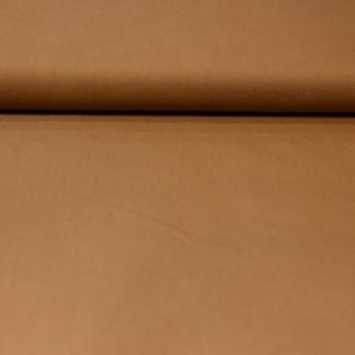 Fibre Mood - Tissu Gabardine de Coton Melangé Uni Couleur Camel