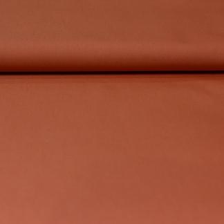 Fibre Mood - Tissu Gabardine de Coton Melangé Uni Couleur Rose Saumon