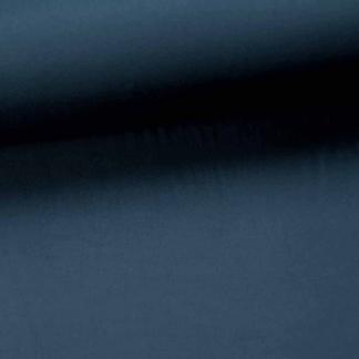 Fibre Mood - Twill de Viscose Soyeux Uni Couleur Bleu